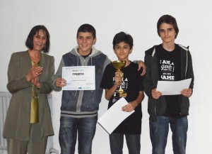 The Winners in  HackTUES - 1st Place